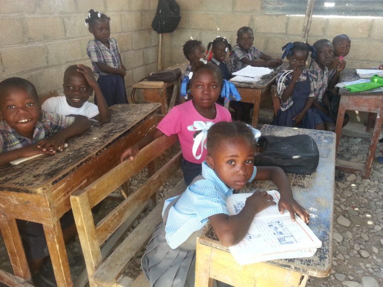 Child of haiti school